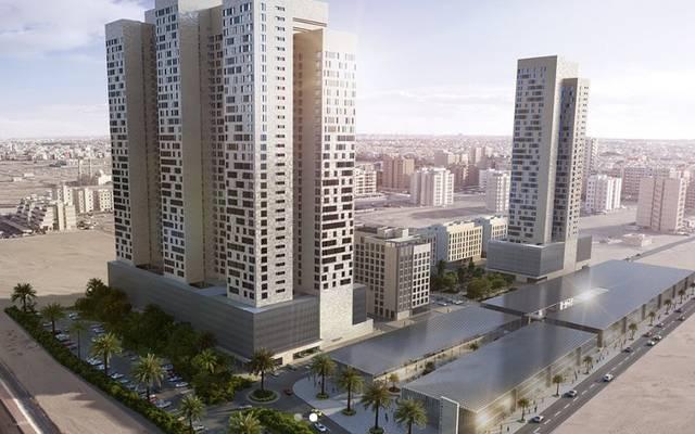 """تمدين إسكوير ، أحد مشاريع """"التمدين العقارية"""" في الكويت"""