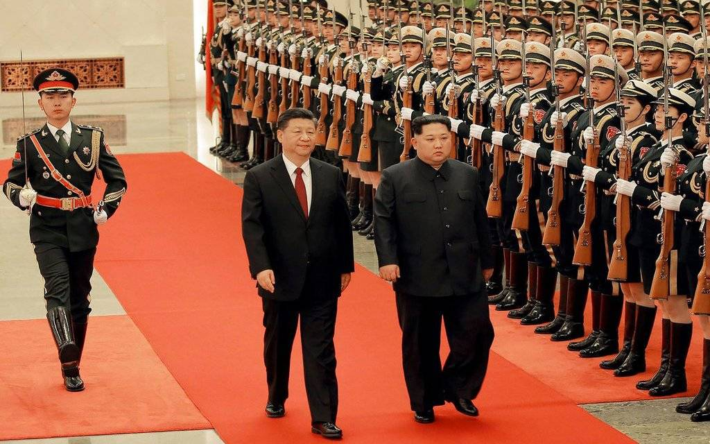North Korea leader visits China ahead of possible summit with Trump 1024