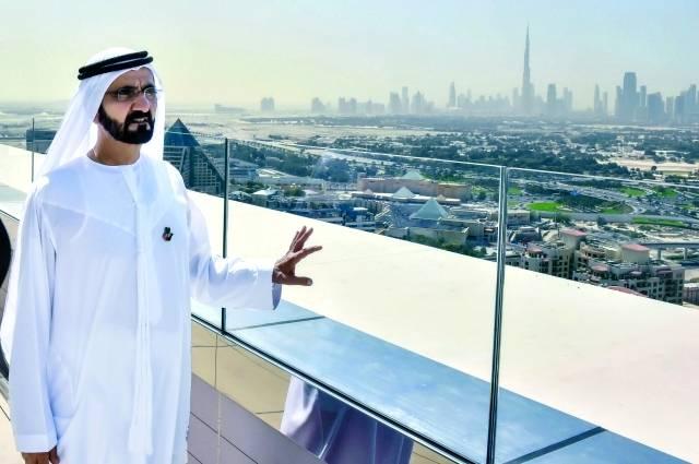 نائب رئيس الدولة رئيس مجلس الوزراء حاكم دبي، الشيخ محمد بن راشد آل مكتوم