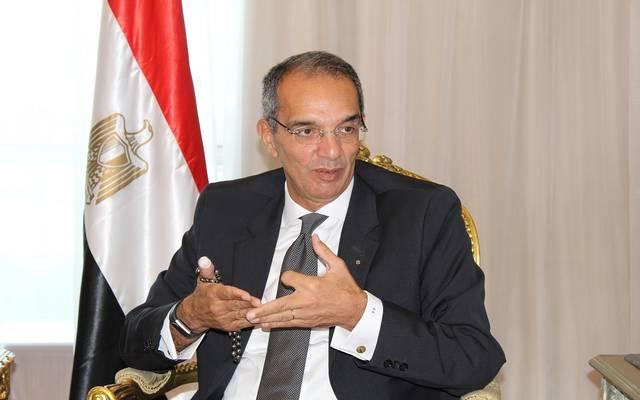 وزير الاتصالات وتكنولوجيا المعلومات المصري عمرو طلعت
