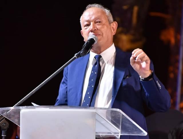 نجيب ساويرس الرئيس التنفيذي لمجموعة أورا ديفلوبرز