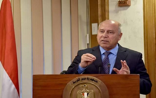 كامل الوزير وزير النقل المصري - أرشيفية