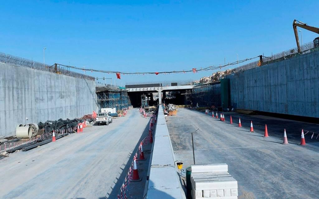 طرق دبي تنجز 90% من مشروع تطوير محور طرابلس