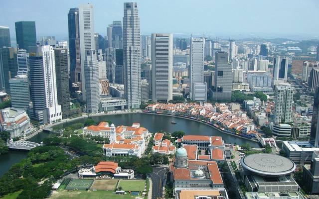 صندوق النقد يخفض تقديرات النمو الاقتصادي لسنغافورة خلال 2019