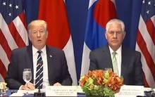 """أوضح """"ترامب"""" إمكانية القيام """"بإجراءات تهدف لتعطيل"""" شبكات الشحن والتجارة للحد من قدرة كوريا الشمالية على تجنب العقوبات"""