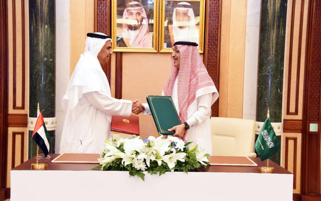 خلال توقيع اتفاقية لتجنب الازدواج الضريبي بين دولة الإمارات والسعودية في شهر مايو 2018