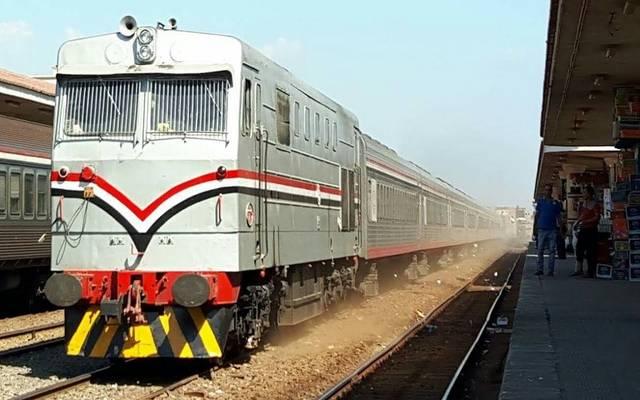 سكك حديد مصر ت صدر بيانا بشأن حريق قطار كفر الزيات معلومات مباشر