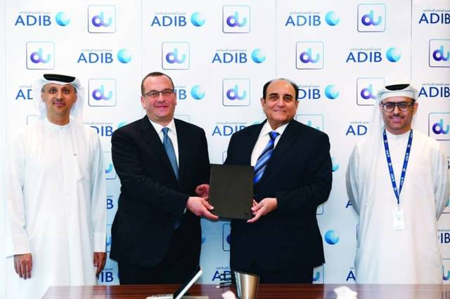 du will maintain delivering progressive network solutions to improve ADIB customers' service experience