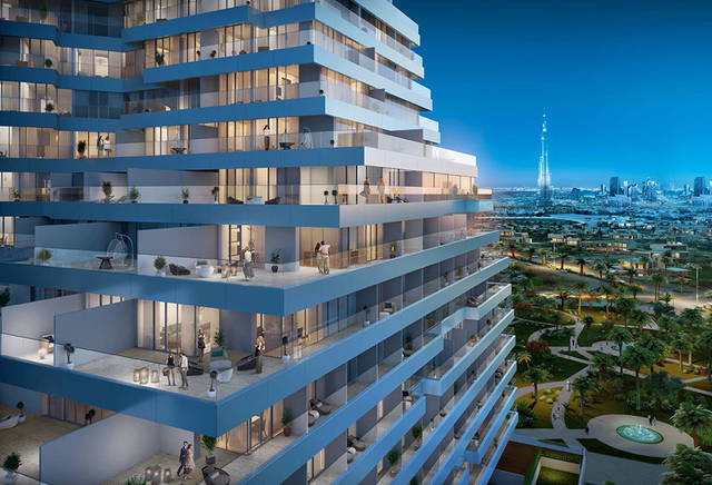 The project comprises 346 serviced residences