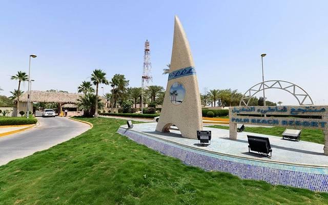 """أحد المشاريع السياحية لشركة المشروعات السياحية """"شمس"""""""