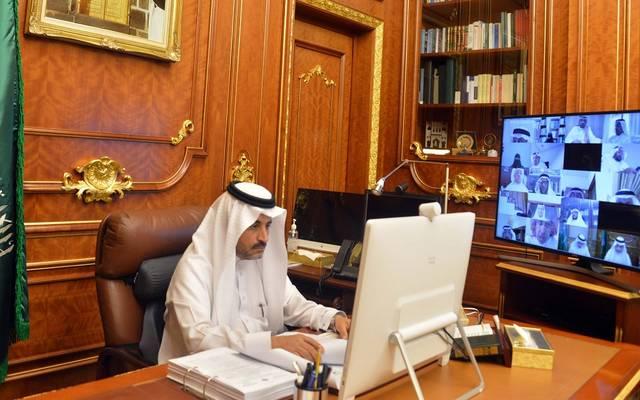 جانب من الجلسة الماضية لمجلس الشورى السعودي