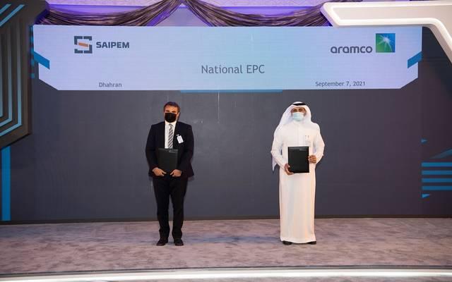 """على هامش توقيع أرامكو السعودية مذكرة تفاهم مع مجموعة خدمات الطاقة الإيطالية """"سايبم"""""""