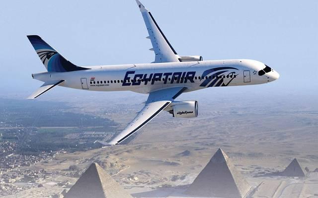 إحدى طائرات مصر للطيران