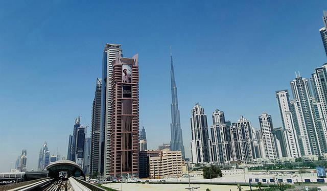 أحد المعالم السياحة بإمارة دبي