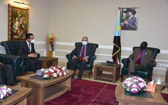 الري المصرية تعقد جلسات مباحثات مع نائب رئيس جمهورية جنوب السودان