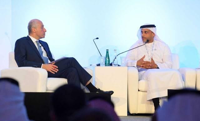 خلال افتتاح مؤتمر الشرق الأوسط للحديد والصلب بدبي