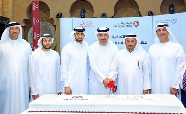 جانب من توقيع عقد اتفاقية الشراكة