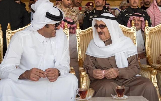 أمير دولة قطر يصل الكويت في زيارة رسمية