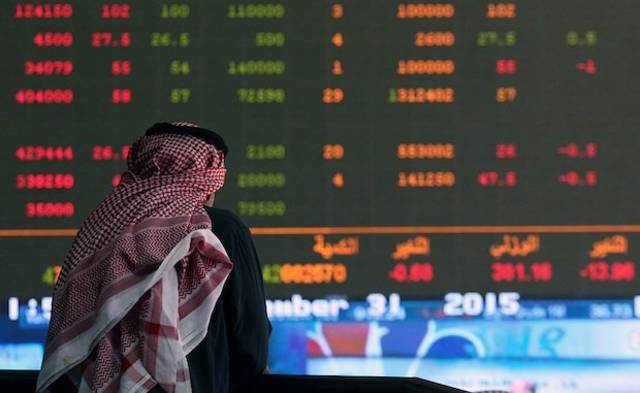 The fall was led by a drop of oil and gas stocks