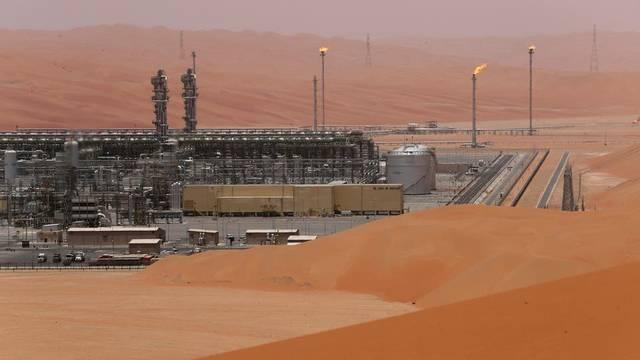 حقل الشيبة النفطي في السعودية