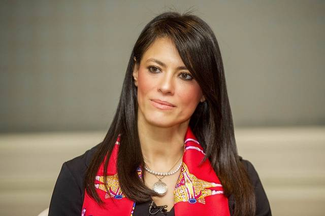 Egypt's Minister of International Cooperation, Rania El-Mashat