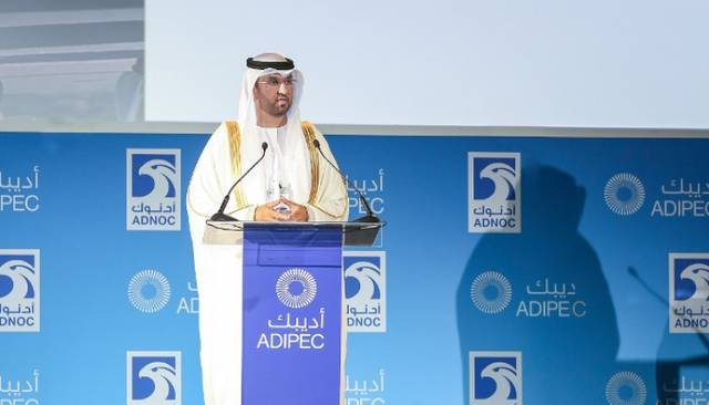 سلطان الجابر، وزير دولة والرئيس التنفيذي لشركة بترول أبوظبي الوطنية