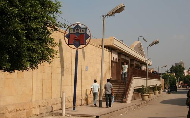 """""""النقل المصرية"""":لجنة لدراسة أسباب خروج عربتين بمترو الأنفاق عن المسار"""