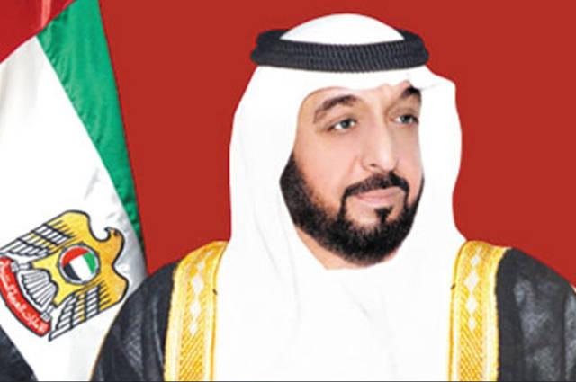 الشيخ خليفة بن زايد ال نهيان رئيس دولة الإمارات