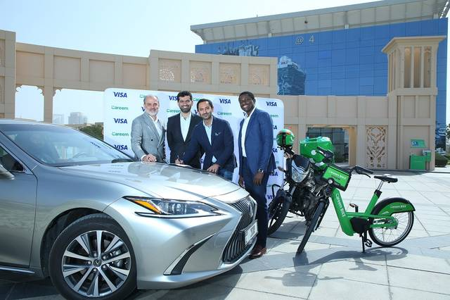 Careem will benefit from Visa's real-time push payment solution