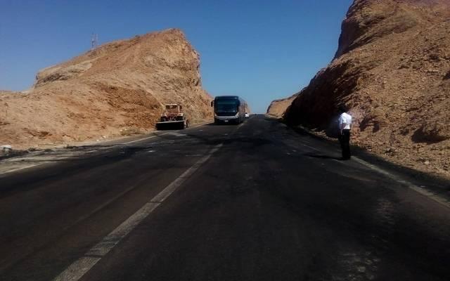 طريق شرم الشيخ- أرشيفية
