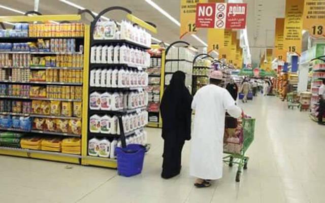 سوق تجاري في عٌمان