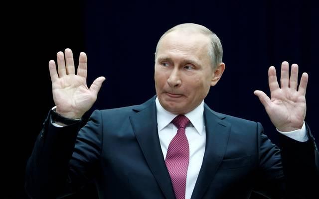 """الرئيس الروسي """"فلاديمير بوتين"""""""