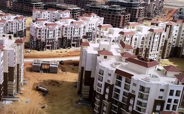 وحدات سكنية في العاصمة الإدارية