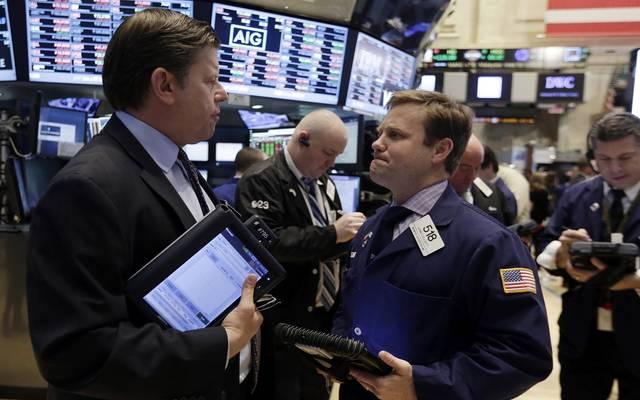 """""""داو جونز""""ينهي التعاملات بخسائر 219 نقطة مع تصعيد الأزمة التجارية"""