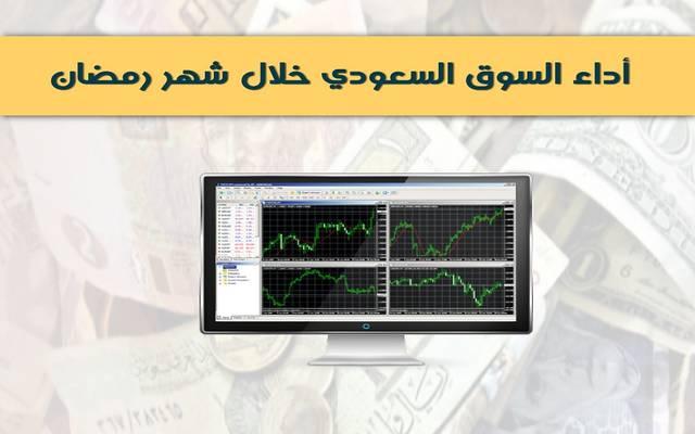 إنفوجراف: أداء السوق السعودية خلال شهر رمضان في 5 سنوات