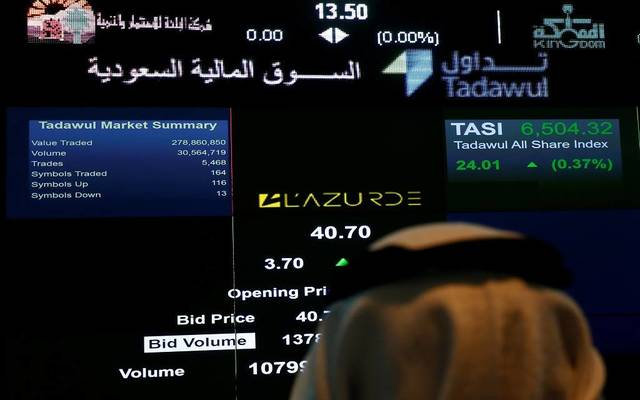 """""""تاسي"""" يصعد للأسبوع الثاني بنسبة 1.2%..بأرباح سوقية 14.4 مليار ريال"""