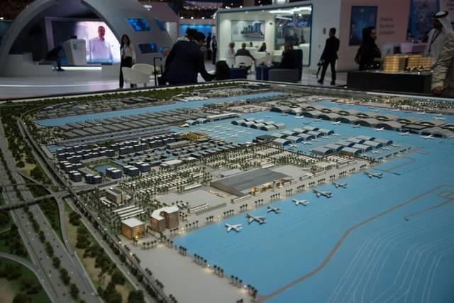 جانب من معرض دبي للطيران 2019