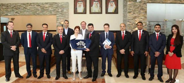 في إطار سعي الشركة وجهودها الرامية لتعزيز العلاقات الثنائية بين البلدين