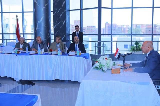 وزير النقل المصري يترأس الجمعية العمومية العادية للشركة المصرية للصيانة الذاتية للطرق والمطارات