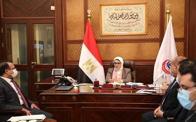 """اجتماع وزاري لمتابعة آلية عمل مبادرة """"المركزي المصري"""" لدعم القطاع الصحي"""
