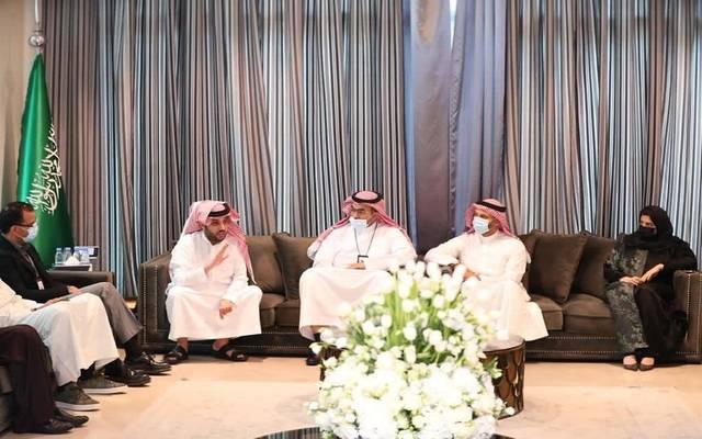تركي آل الشيخ يجتمع بالشركات العاملة في قطاع الترفيه