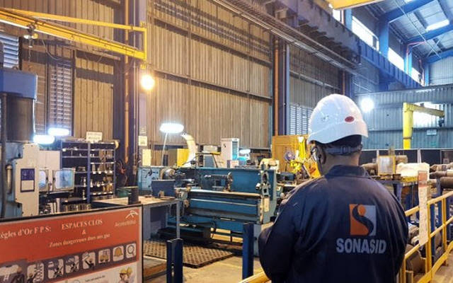 خطوط إنتاج الحديد في الشركة