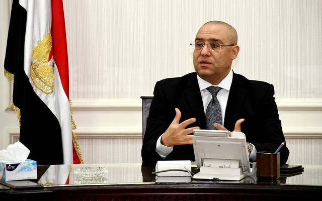 Egyptian housing minister Assem El-Gazzar