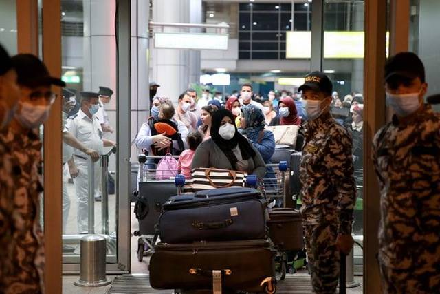 The repatriated passengers will be quarantined for 14 days