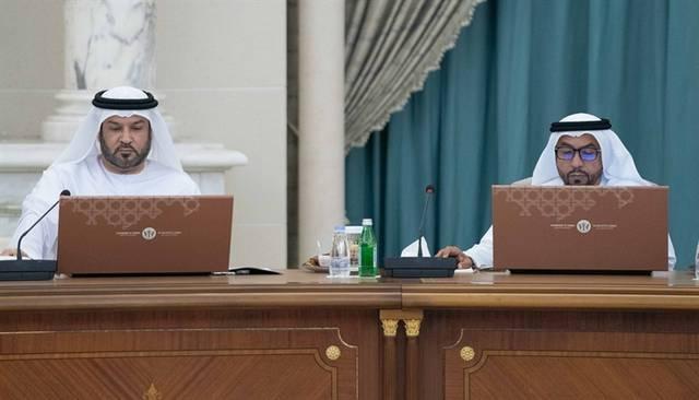 جانب من اجتماع المجلس التنفيذي لإمارة الشارقة