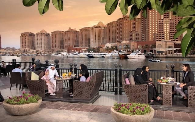 داخل أحد المطاعم في قطر