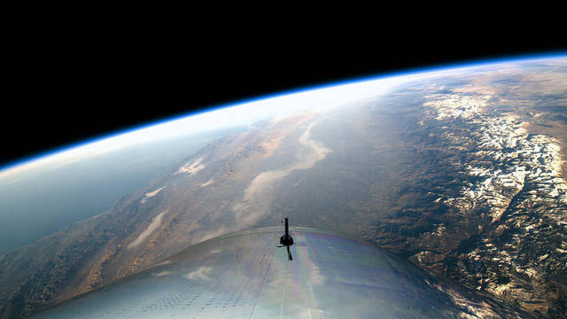 Virgin Galactic starts its 1st flight to space