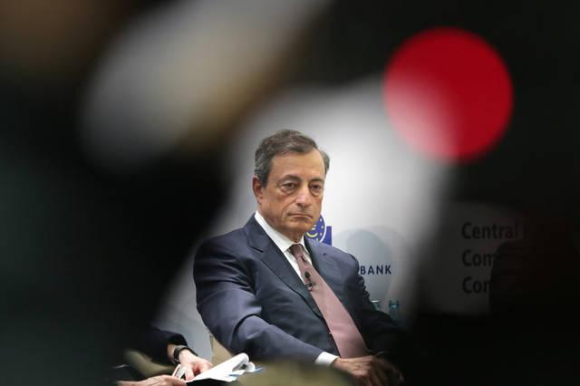 دراجي: المركزي الأوروبي قد يخفض معدلات الفائدة عند الحاجة