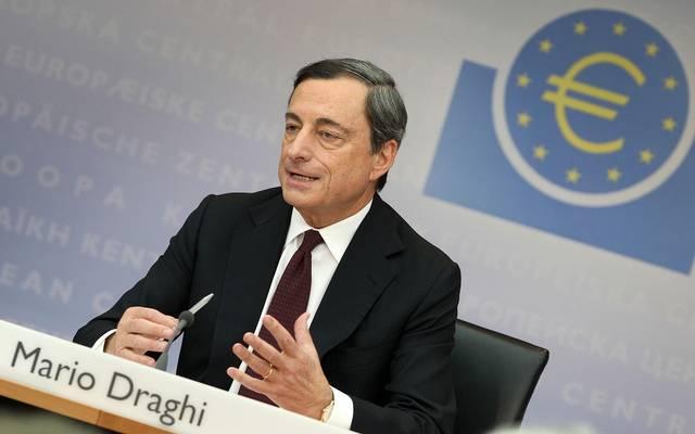 المركزي الأوروبي يتعهد مجدداً بإبقاء سعر الفائدة منخفض