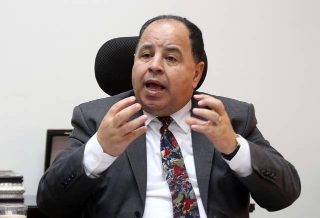 وزير المالية المصرية محمد معيط